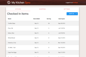 My Kitchen Sync