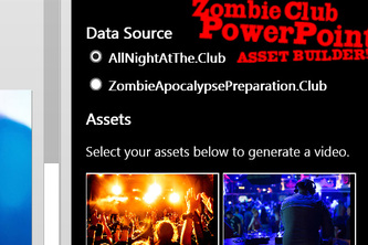 Zombie Club PowerPoint Asset Builder!