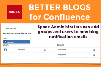 Better Blogs for Confluence