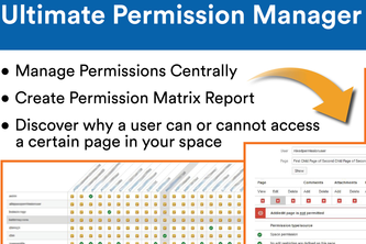 Ultimate Permissions Manager for Confluence