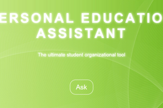 Personal Education Assistant (PEA)