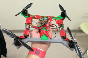 Nunchuck Quadcopter