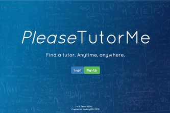 PleaseTutorMe