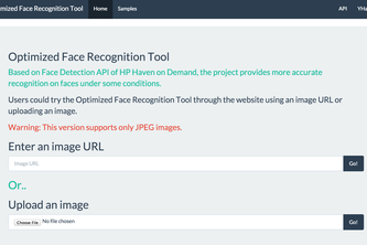 Optimized Face Recognition Tool