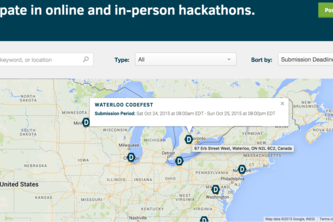 Hackathon Map