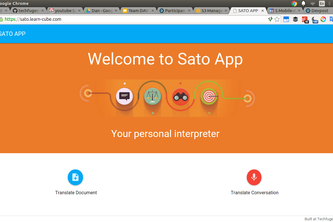 SATO - Personal Interpreter for instant translations