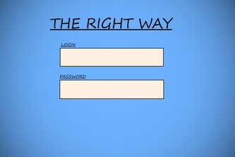 The Right Way~