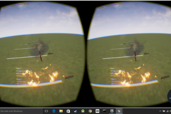 Virtual Reality Javelin Toss