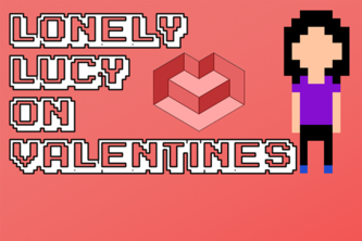 Lonely Lucy on Valentines