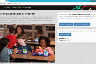 E.A.T. School Lunch UX