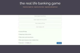 The Real Life Banking Game