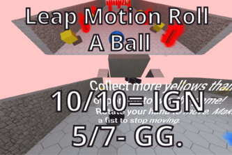 Multiplayer LeapMotion RollABall