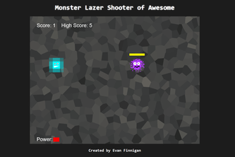 Monster Lazer Shooter of Awesome