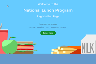 E.A.T. School Lunch UX Challenge