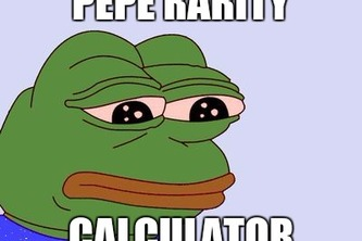 Pepe Rarity Calculator