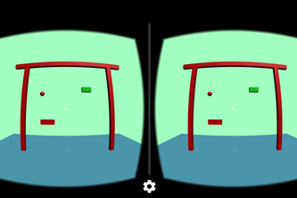 Breakout game for Cardboard VR