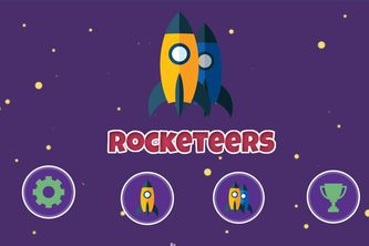 2D Mobile Game - Rocketeers
