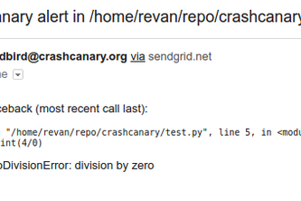 Crash Canary