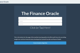 The Finance Oracle