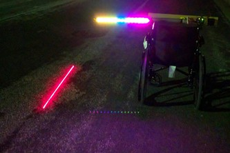 Three Feet Led and Laser Lights Safety Bar.