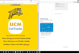 Cattracks unofficial WebApp