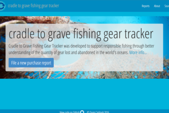 cradle to grave fishing gear tracker