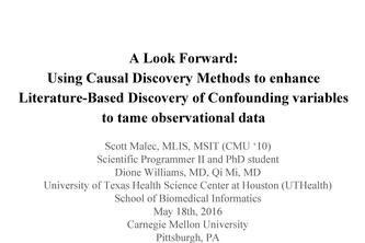 Confounding Variable Discovery and Causal Refinement