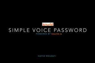 Simple Voice Password (SVP)