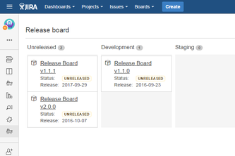 Release Board for JIRA