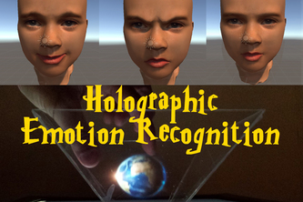 Holographic Emotional Recognition in Real Time