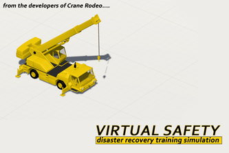 Disaster recovery training simulator
