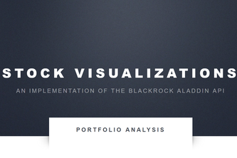 Stock Visualizations