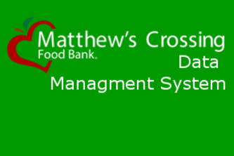Matthews Crossing Data Manager