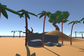 Low Poly Island VR