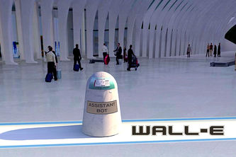 Wall-E, your path guide