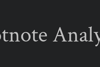 Footnote Analytics