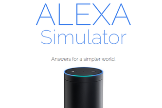 Alexa Simulator UK