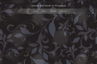 Social Network In Progress