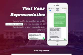 Text Your Representative