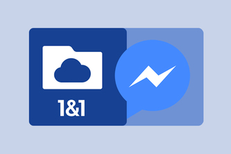 1&1 Cloud Server FMI (Facebook Messenger Interface)