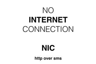 NIC - No Internet Connection