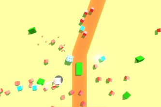 Mad cubes