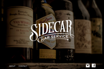 Sidecar Bar Service Website