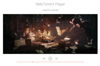 WebTorrent Player