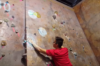 Augmented Reality Rock Climbing