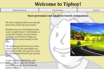 TipBoy. Your personal cost analysis travel companion.