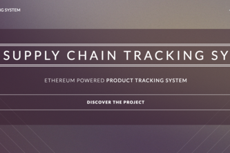 SCTS - Supply Chain Tracking System