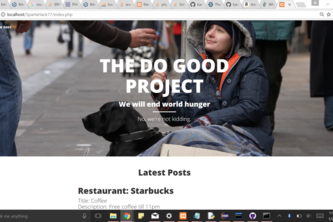 The Do Good Project