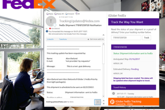 FedEx Tracking for Outlook