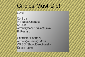 Circles Must Die! (Table 33A)